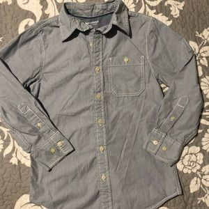 Boys Button-up Collar Shirt